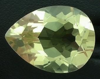 20x15 pear citrine gem stone gemstone natural
