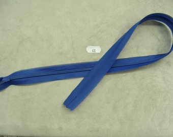 Invisible zipper - 60 cm - Royal Blue
