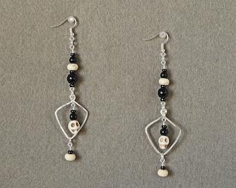 Skullery - Handcrafted Wire Earrings