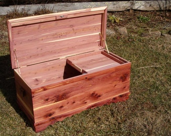 Solid Cedar Lift Trays for your Cedar Chest