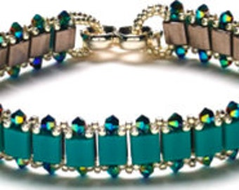 Tila For Two Bracelet, Companion kit to Convertible Crystal Jewelry