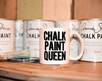 CHALK PAINT QUEEN diy Coffee Mug