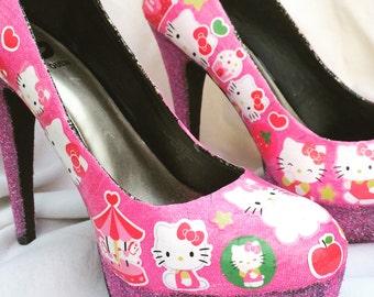 Size 9 1/2 Hello Kitty Heels
