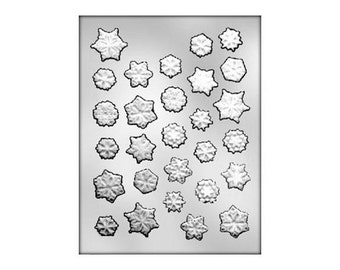 Snowflake Chocolate Mold, Snowflake Chocolate Candies, Frozen Snowflake Candy Molds