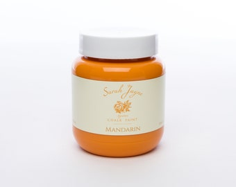 Sarah Jayne Signature Chalk Paint - Mandarin - FREE P&P
