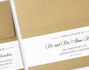 Wedding address label templates idealstalist wedding address label templates stopboris Images