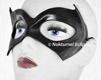 Batgirl Leather Mask Cosplay Halloween Superhero DragonCon Comic Con Batman Alicia Silverstone Gotham City Geek Cosplay SDCC Costume