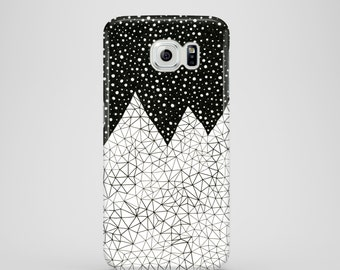 Day and Night mobile phone case / Samsung Galaxy S7, Samsung Galaxy S6, Samsung Galaxy S6 Edge, Samsung Galaxy S5 / mountain phone case