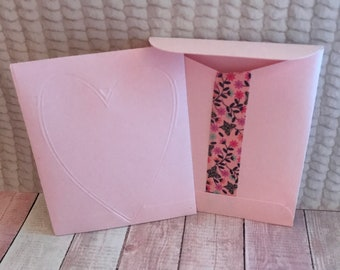 Small gift envelopes. Set of 4.