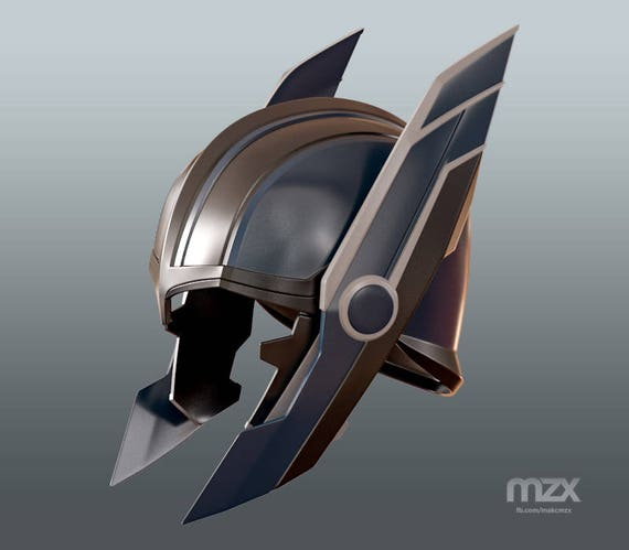 Items similar to Thor Ragnarok Battle helmet for 3D ...
