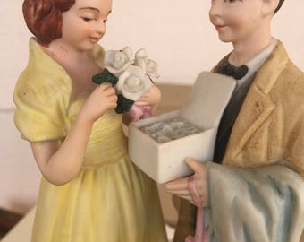 Norman Rockwell First Prom Figurine, 1979, fine porcelain