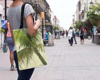 Beach Tote Bag   Palm Tree Bag   beach bag personalized   Palm Tree Tote Bag   Tropical Tote Bag   16 x 16 tote bag   18 x 18 tote bag