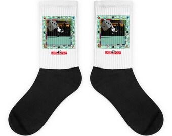 Monopoly Board Game Socks