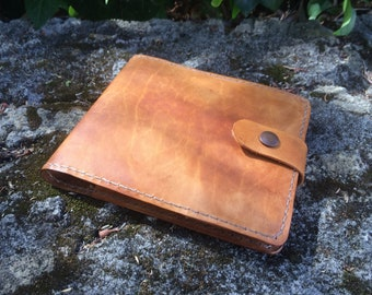 Refillable Leather Notebook - Small