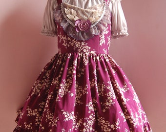 A Song For Flowers - Violette Lolita Dress