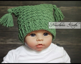 Crochet Hat Pattern - Textured and Ribbed Hat/ Pattern number 080. Instant PDF Download - Includes 8 sizes up to teen.
