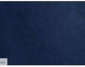 Minky Fabric, Navy solid cuddle, Shannon Fabrics