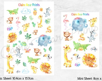 CUTE AFRICA Planner Stickers (2 options)