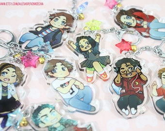 """2"""" Acrylic Be More Chill Charms"""