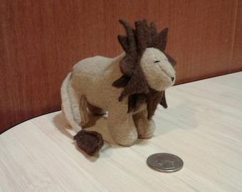 Handmade Lion Stuffy