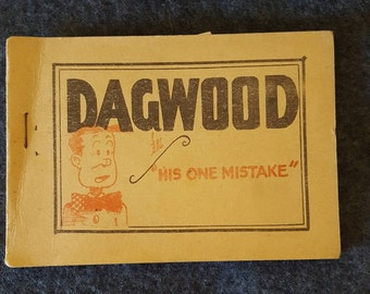 Tijuana bible. Eight pager. Dagwood.