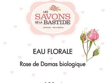 Floral damask Rose water.