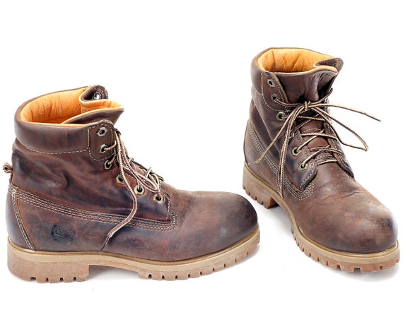 d400c8fe8b3 US 5 Walking Padded Hiking Leather 90s Boots UK Rugged Sole Boots ...