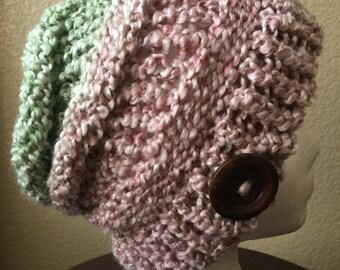 Womens fashion beanie.....Adult size , fashion hat , very soft yarn