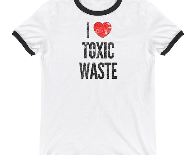 I Love Toxic Waste Chris Knight Real Genius Movie | I Heart Toxic Waste T-Shirt