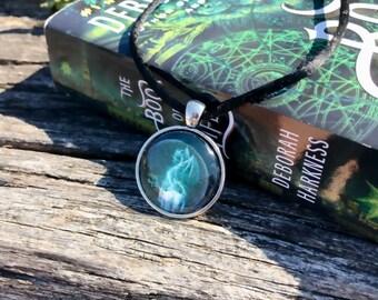 All Souls Trilogy Original Artwork Pendant Necklace Diana Bishop Cora Firedrake
