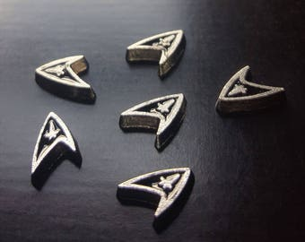Star Trek Floating Charm for Floating Lockets-Starfleet Insignia-Gift Idea