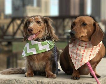 Dog Bandanas (Choose from over 175 fabrics) dog snap bandana, pet bandana, pet accessory, dog bandanas, bandana for dogs, dog collar bandana