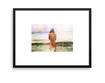 "Let go at dusk"" Printable Original Photography Art"