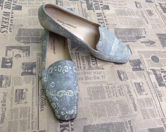 Dolce & GABBANA   Made in Italy   Dolce & Gabbana Shoes   Vintage Shoes   Dolce e Gabbana Loafers   Vintage Shoes   Leather Shoes  