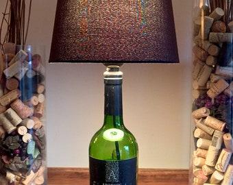 Apothic Dar, Wine Bottle Lamp (750ml Bottle)