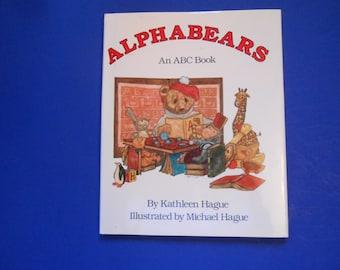 Alphabears, An ABC Book, a Vintage Children's Alphabet Book