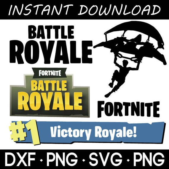 Fortnite Battle Royale Logo Silhouette Vector In Svg Png