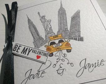 New York City Valentines card
