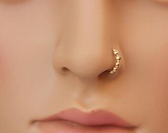 Gold Piercing Etsy