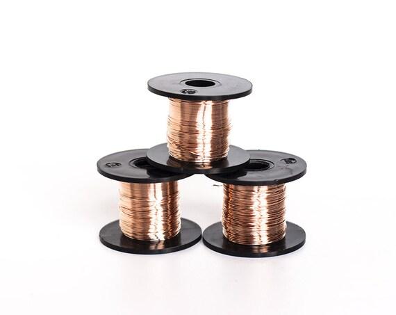 2439 Bronze craft wire 26 gauge Jewelry wire 0.4 mm Bronze wire Wire ...