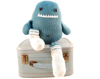 Sammie The Sock Monster Knitting Pattern Pdf INSTANT DOWNLOAD