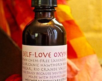 Self-love Oxymel - uplifting, heart care