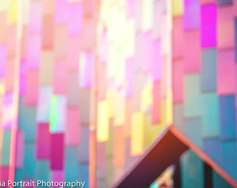 Purple Cathedral, church jewel tones, stock photography