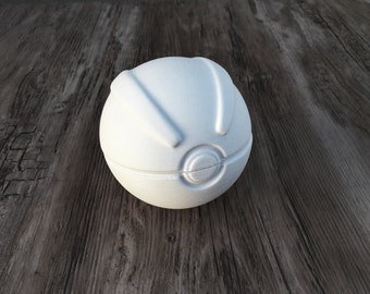 Pokemon Great Ball DIY Kit | Full Size | Perfect for Cosplay and Parties | Poke Ball | Party Favor | Scale 1:1 | Life Size Replica | Gift