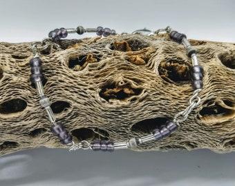 Gray resistor bracelet