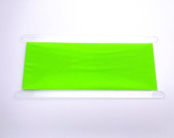Neon Green Headband - Hi Vis Headband - Workout Headband