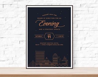 DIY Printable Special Event Flyer Template, MS Word Flyer Templates, Photoshop Flyer, Benefit Dinner Flyer Template, Download Flyer