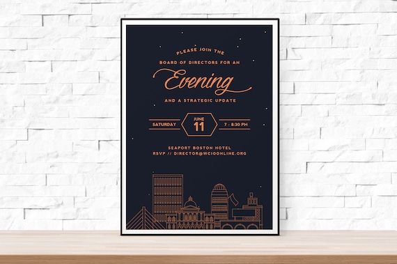 benefit poster template