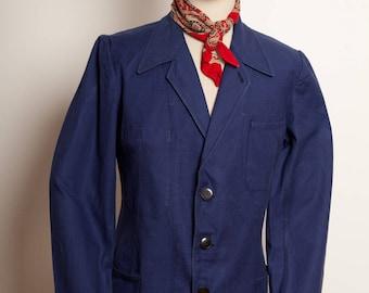 French Work Blazer Indigo 1950