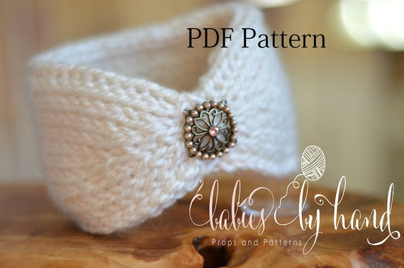 Tunisian Crochet Headband Pattern Baby Crochet Headband